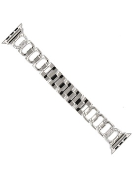 Metal Diamond-encrusted Watch Band for Apple Watch 1/2/3