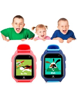 M06 Smart Watch Waterproof Child GPS Phone Positioning 1.44 inch Color Touch Screen For Children