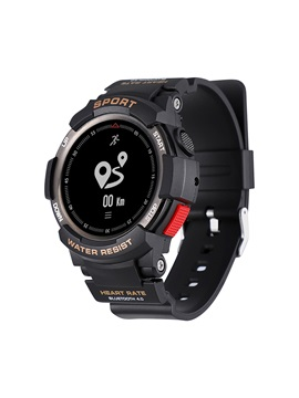 DTNO.1 F6 Bluetooth IP68 Waterproof Smartwatch Heart Rate Monitor