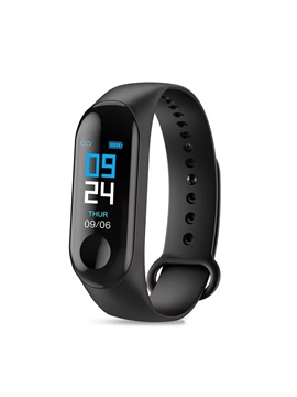 Silicon Touch-Screen Calorie Counter Smart Bracelet