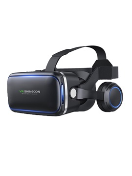 G04E 3D Virtual Reality Glasses Video Movie Game Box for 4.7-6.0 Inches Smartphones
