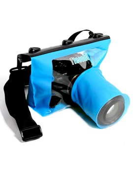 Tteoobl T-518M 20M Waterproof Bag Underwater Diving Camera Housing Case Pouch Dry Bag for DLSR