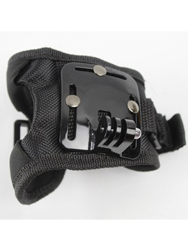Wrist Band 360 Degree Swivel Rotation Hand Strap Belt Tripod Mount for GoPro
