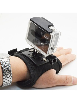 Hand Strap with Long Screw Glove-style Mount Wrist Strap for GOPRO HERO 4 3+3 2 1