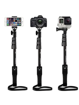 Yunteng 1288 Selfie Sticks Handheld Monopod+Phone Holder+Bluetooth Shutter for Camera Phone