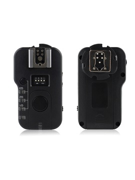 Wireless Remote Flash Trigger with Remote Shutter Cable for Canon 6D 60D 7D 70D 5D2 5D3 600D
