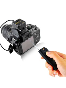 Wireless Remote Shutter Release Cable for Nikon D7000 D3100 D90 SLR Cameras