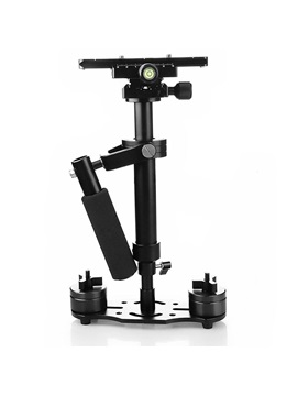 Aluminium Alloy Handheld Camera Stabilizer with Quick Release Plate and Screw for DSLR and Video Cameras