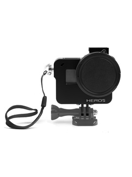 C400 Protective Case,Gopro Hero 5 Aluminum Housing with 52mm Uv Filter