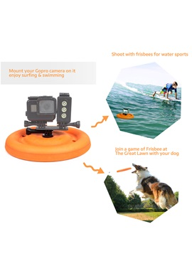 Shoot Frisbee Floating Mount for GoPro Accessories