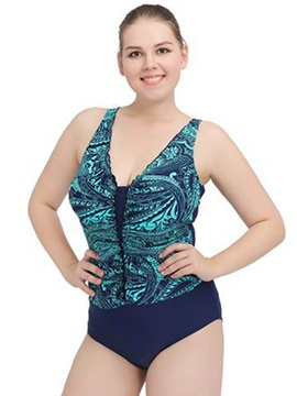 Print Women's One Piece Swimwear