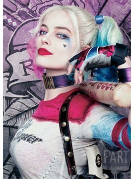 Harley Quinn Hairstyle Cosplay Wigs Synthetic Hair Wig