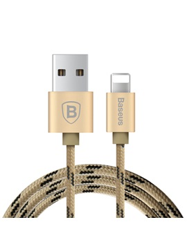 Original Baseus MFI Cable for iPhone 5 6 iPad Mini Air Durable Nylon Braided 8Pin USB Data Sync Charging Cable