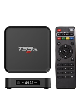 Sunvel T95M Android 4K TV Box Amlogic S905X Quad Core Metal Shell Google TV Player