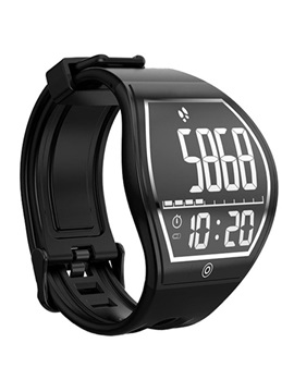 ISPORT E-INK Curved Screen Bluetooth Smart Watch Support Waterproof for Samsung / Sony / Huawei / IPhone