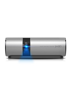JMGO P2 Portable LED Projector 250 ANSI Lumens, 15600mAh Android HD Projector, WIFI, Bluetooth Speaker