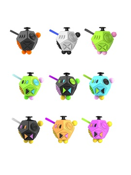 Cute Fidget Toy Cube For Anxiety/Stress Relief/Attention/Focus