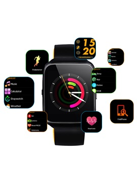 Z40 Bluetooth Smart Watch Heart Rate Blood Pressure Monitor Voice Control for Apple Samsung