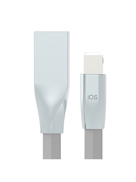 White Apple Lighting Micro USB Interface Data Cable (1m)