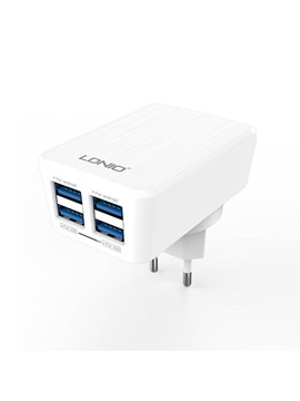LDNIO DL-AC62 Travel Charger 4 USB Ports Power Charge