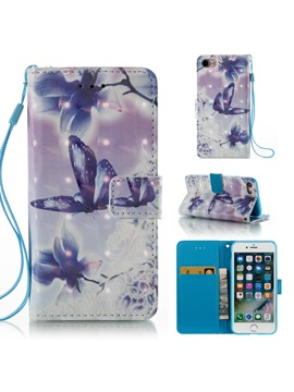 New Flip Wallet Phone Cover Case For Apple iPhone 6/6S/6 Plus/7/7 Plus