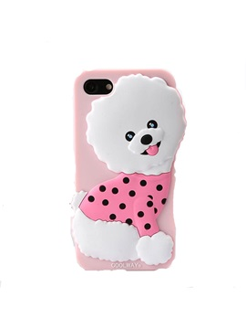 For IPhone 8/8 Plus/6/6p/7/7p Plus Case Cute Lovely Cartoon Dog Silica Gel Soft Case