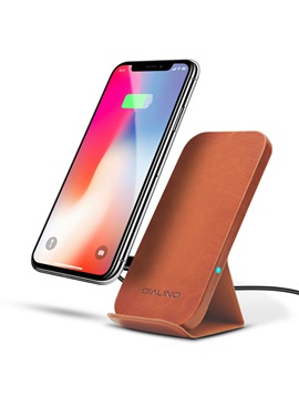 QI Wireless Fast Charger for Samsung S8 iPhone 8 Ultra-Thin Bracket