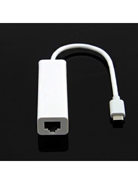 Type C to USB 2.0 Ethernet+3 Port USB HUB Adapter for Mac Book Air