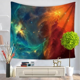 Galaxy Milky Way Pattern Decorative Hanging Wall Tapestry