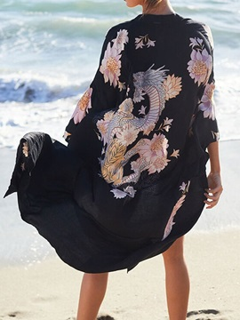 Wrapped Print Sexy Women's Beach Tops