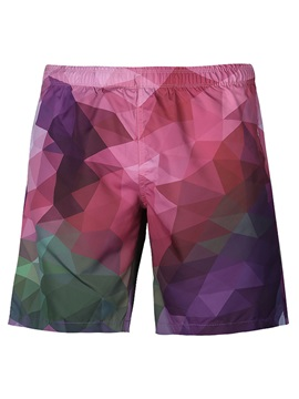 Tidebuy Geometric Gradient Men's Board Shorts