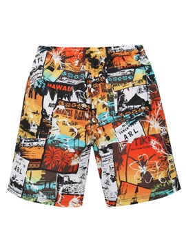 Tidebuy Cartoon Print Men's Board Shorts
