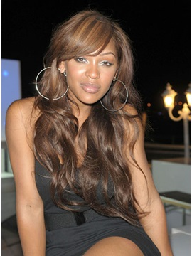 High Quality Long Wavy Natural Light Capless Thick Wig 20 Inches
