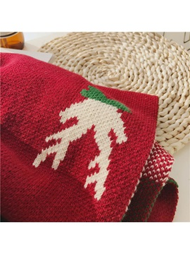 Reindeer Pattern Design Christmas Scarves