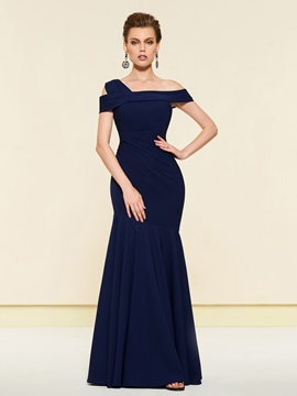 Elegant Mermaid Mother of the Bride Dress 2019