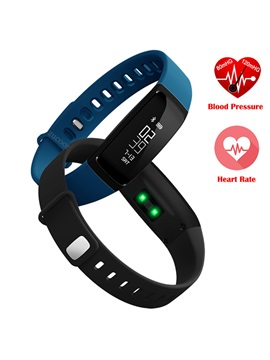 M2 OLED Screen Bluetooth Smart Wristband Support Message Reminder & Blood Pressure Monitor