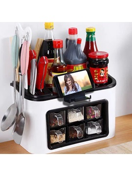 Multifunctional Kitchen Hanged Storage Box Rack Tableware Storage Box