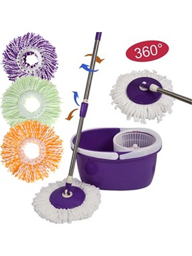 360 Degree Mop Head Easy Magic Floor Mop Microfiber Spin Spinning Rotating Head Floor Brush