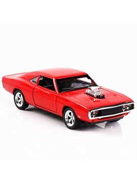 Speed and Passion Dodge War Horse Muscle Car Model Toy Simulation Car