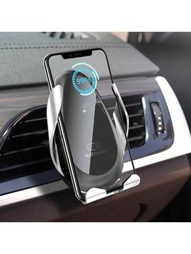 Full-automatic Induction Car Phone Holder Wireless Charger Car Support Navigation Bracket