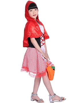Halloween Costume Little Red Riding Hood Girls' Outfit