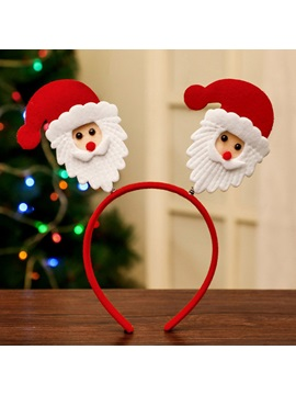 Christmas Adult Children Headband Elk Santa Headwear Holiday Party Dress Up Decoration