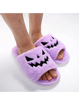 Halloween Slip-On Flip Flop Flat With Spring Slippers