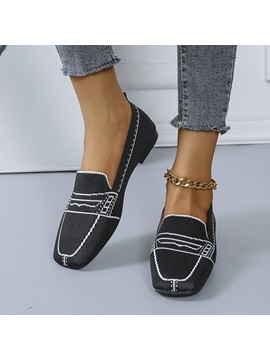 Slip-On Flat With Round Toe Flat Heel(≤1cm) Thin Shoes