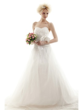 Amazing Ball Gown Sweetheart Chapel Nastye's Wedding Dress for Brides