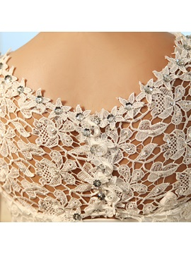 Ball Gown Beading Sequins Lace Wedding Dress