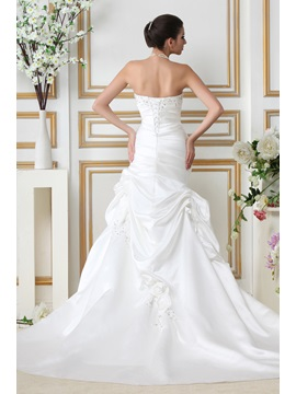 Fashion Mermaid/Trumpet Sweetheart Chapel Train Taline's Wedding Dress