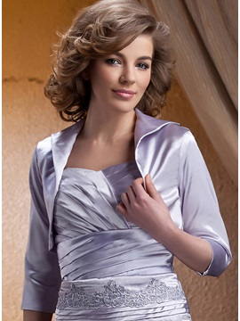 3/4 Sleeve Lapel Wedding Jacket