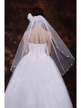 Beaded Edge Wedding Veil