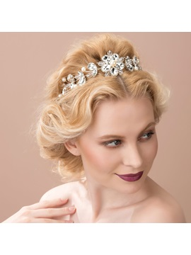 Pearls and Rhinestone Wedding Headpiece